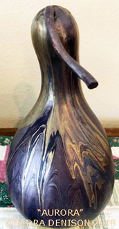 Gourd created by Nedra Denison.
